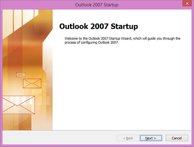 1. Buka Aplikasi Microsoft Oulook dari PC/Laptop