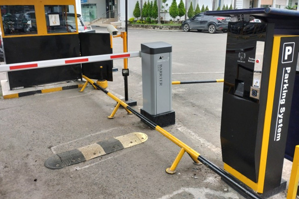 Paket Sistem Parkir Kota Medan (1 IN & 1 OUT) + Software Parkir